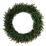 """30/40/50cm DIY LED Hanging Wreath Christmas Party Decoration,Outsta Wreath Wall Ornament Christmas for The Front Door, Home Décor (11.8""""/30cm, Without LED Light String)"""