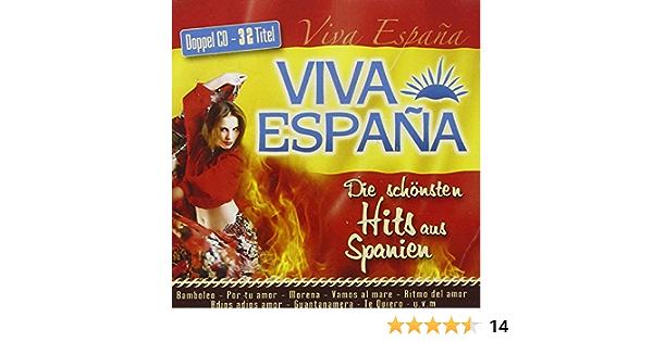 Viva Espana - Die schönsten Hits aus Spanien; Bamboleo; La Bamba; Te Quiero; Por tu amor; Morena; La Cucaracha; Guantanamera; Granada; Mas que nada; Vamos al mare; Ritmo del amor; Adios adios