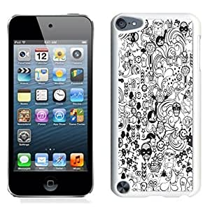 NEW Unique Custom Designed iPod Touch 5 Phone Case With Zed Duo Comics_White Phone Case
