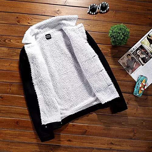 Manica Bcfuda Jeans Di Lunga Giacche Denim Outwear Caldo Vintage Donna✿giacche Autunno Inverno Lana Grossa Donna Taglia Fual In Nero Da Cappotti W4WUrFHn