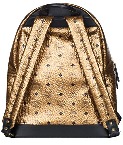 MCM Unisex Gold Weekender Visetos Backpack Bag by MCM (Image #1)