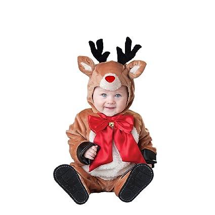 Disfraces Tudi Disfraz Reno Navidad Unisex Talla 1 Amazoncommx - Disfraz-reno