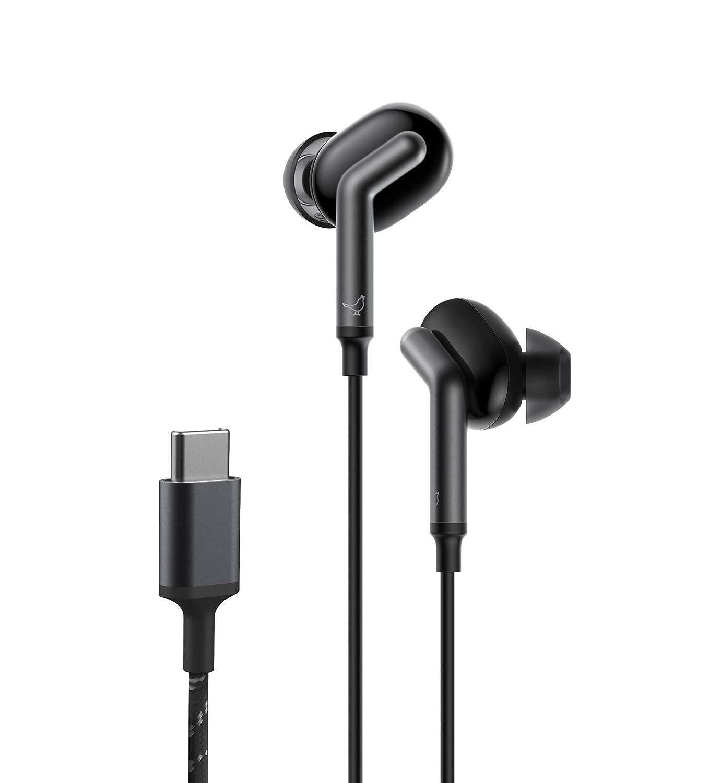 Libratone Q Adapt - Cインイヤノイズキャンセリングヘッドフォン One Size ブラック LI0040000GG600X B079ZQQKCV Stormy Black