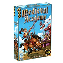 """Squires, welcome to Medieval Academy, the place where you'll be trained to become a knight. You'll have to master the arts of Jousts and Tournaments, complete dangerous Quests, and polish your Education. You'll also have to serve the King, a..."