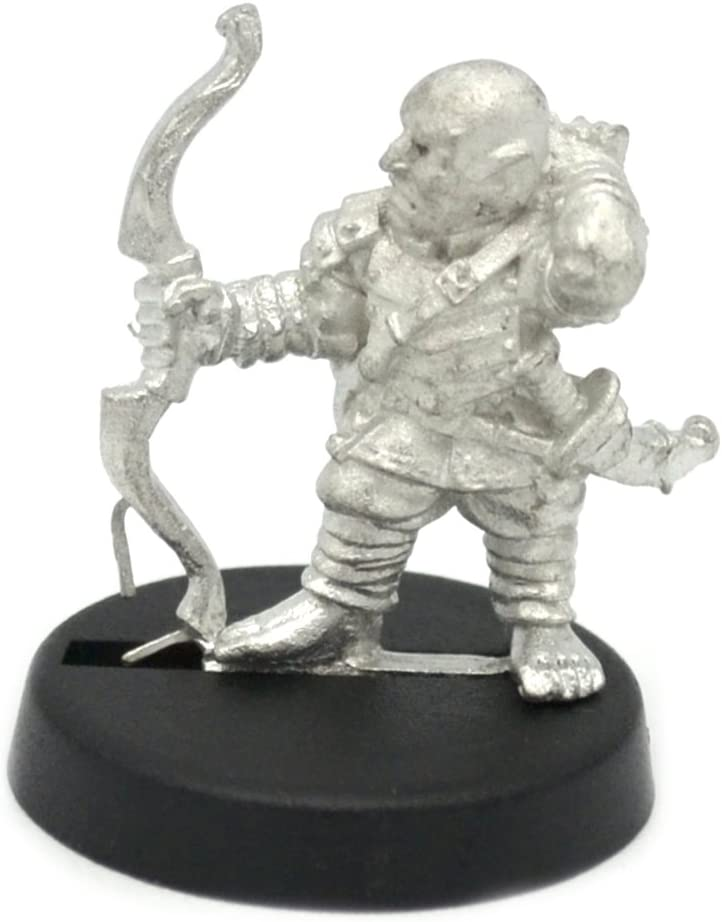 Stonehaven Halfling Ranger Miniature Figure (for 28mm Scale Table Top War Games) - Made in USA
