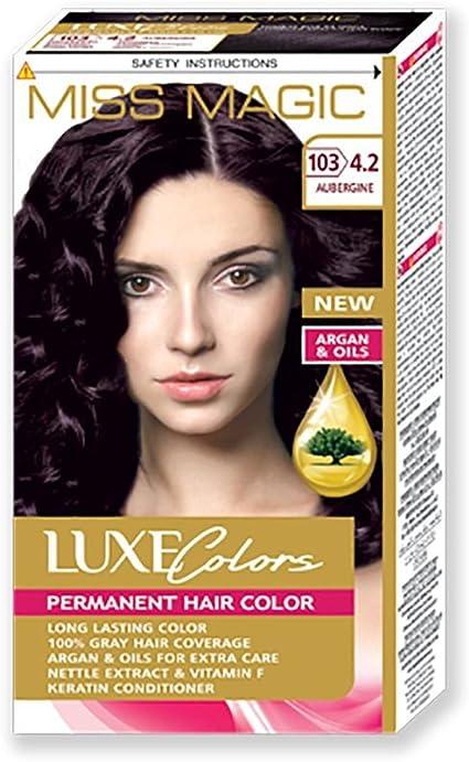 Tinta para pelo Miss Magic Tinte Berenjena Hair Colour con ...