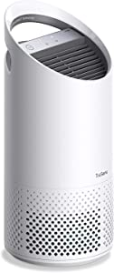 TruSens Air Purifier   360 HEPA Filtration with Dupont Filter   UV Light Sterilization Kills Bacteria Germs Odor Allergens in Home   Dual Airflow for Full Coverage (Small)