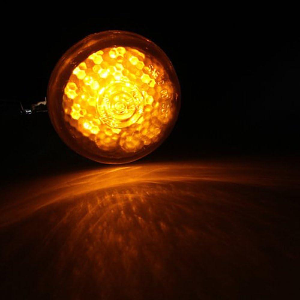 signal Clignotants pour moto ECLEAR 4/x/41/mm chopper bo/îtier noir indicateur arri/ère avant lampe pour moto LED bobber cruiser
