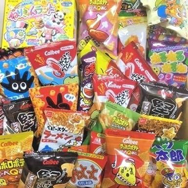Popin Cookin Dagashi Caja de aperitivos japoneses 70 piezas Umaibo Candy Gumi papa Chip Kitty chocolate con adhesivo AKIBA KING: Amazon.es: Alimentación y bebidas