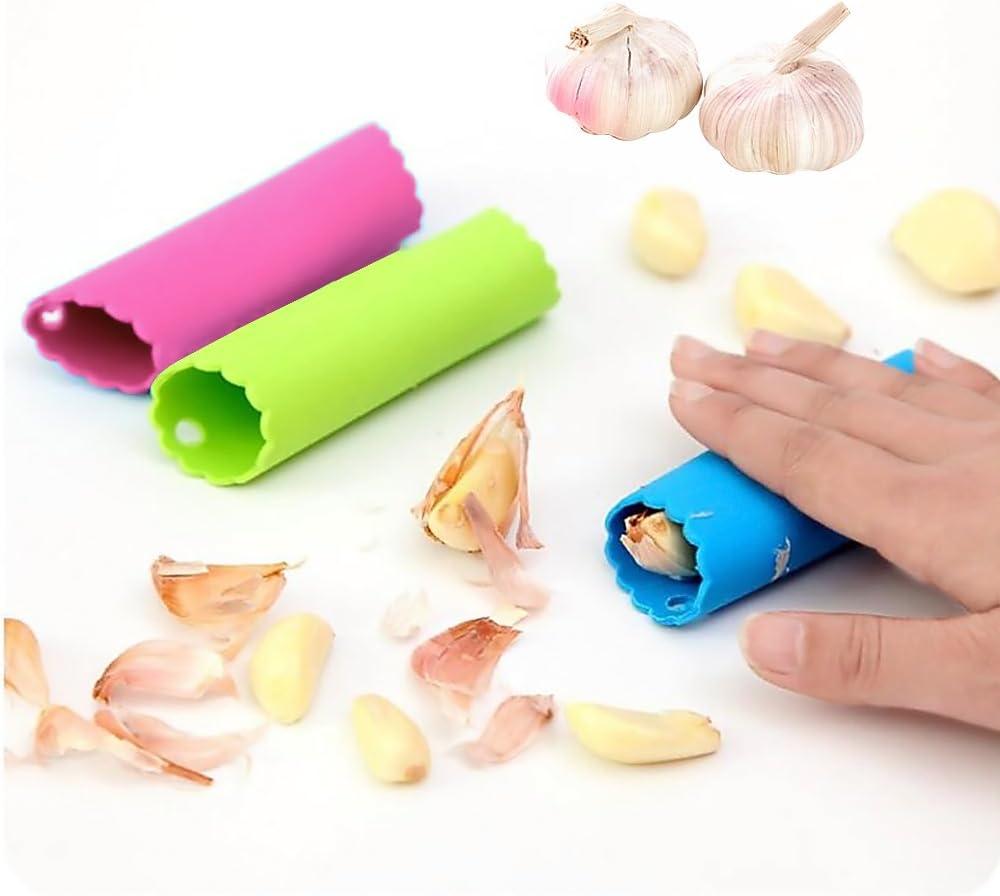 garlic skin cleaner tube