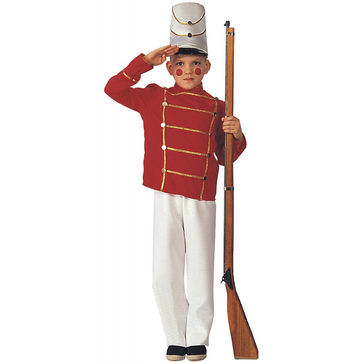 Kids Boys XMAS Costume Nutcracker Toy Soldier Outfit M Boys Medium (5-7 years)