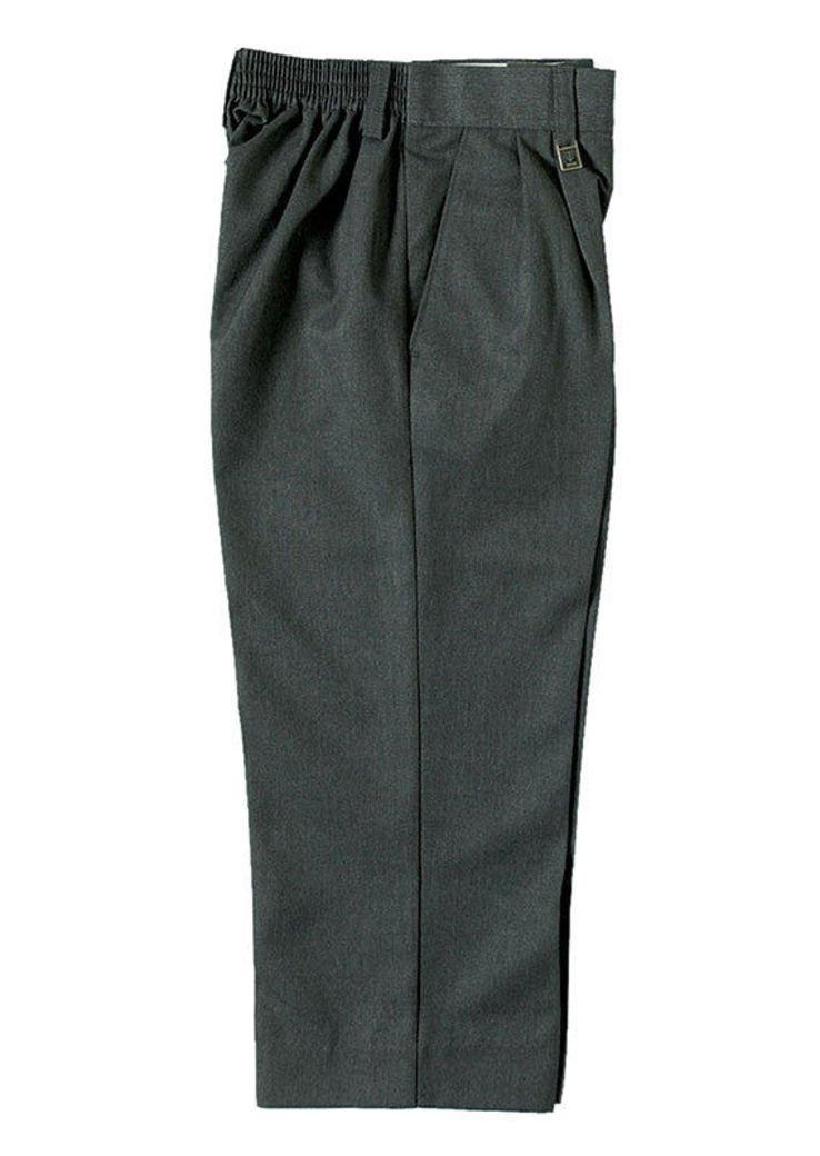 Zeco Quality School Uniform Wear Boys Sturdy Large Fit Trousers Age 5-13