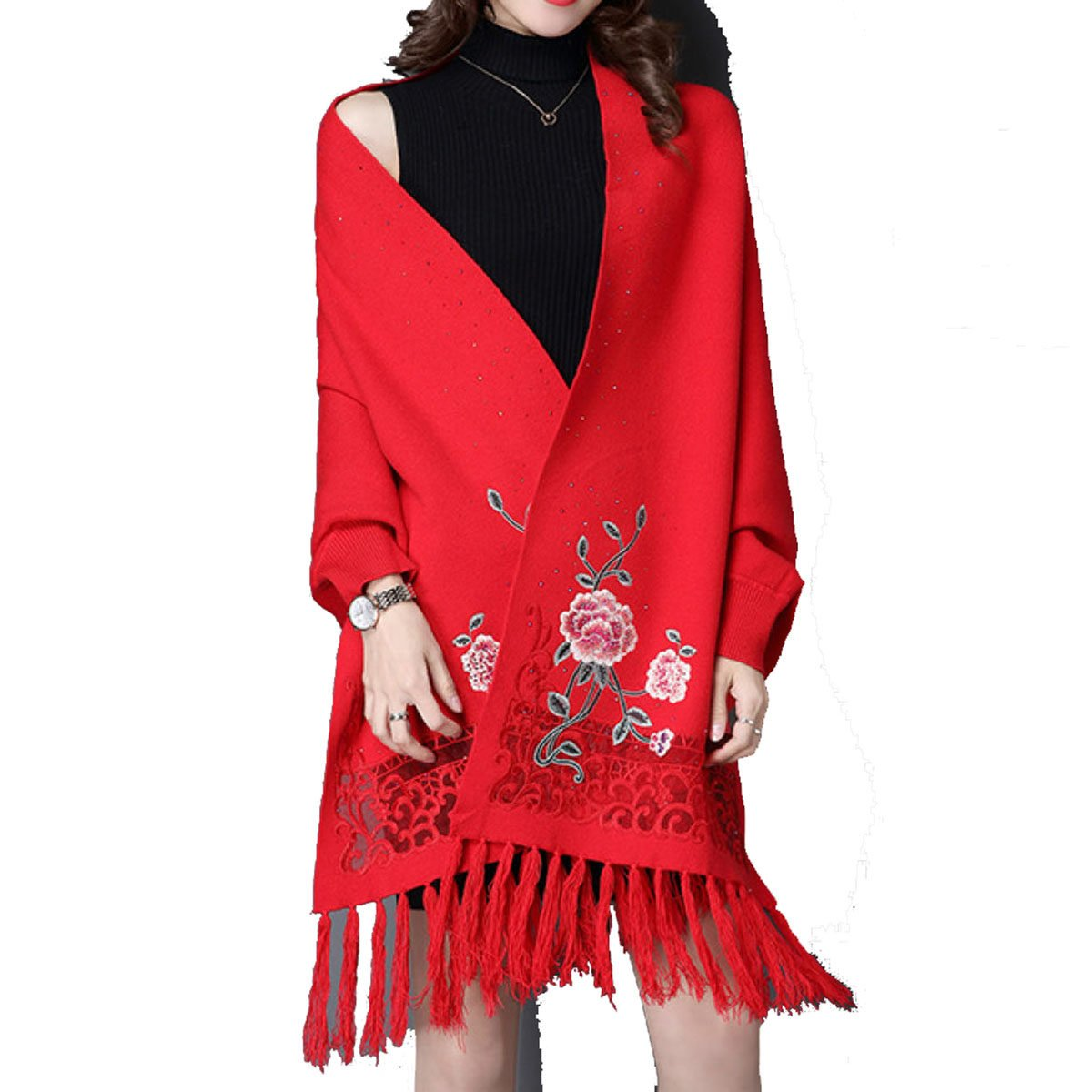 Mai Dou Winter Lady Scarf Cachemire Artificiale Cappello Caldo Traspirante  Freddo Del Mantello,A-OneSize: Amazon.it: Abbigliamento