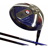 Generic Japan Wazaki WL-IIs Black Oil finish Titanium 460cc USGA PGA Rule Golf Club Driver +Leather Cover