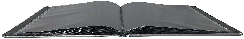 The Model Shop Scuba Portfolio Book, 9 x 12, 20 Pages for 40