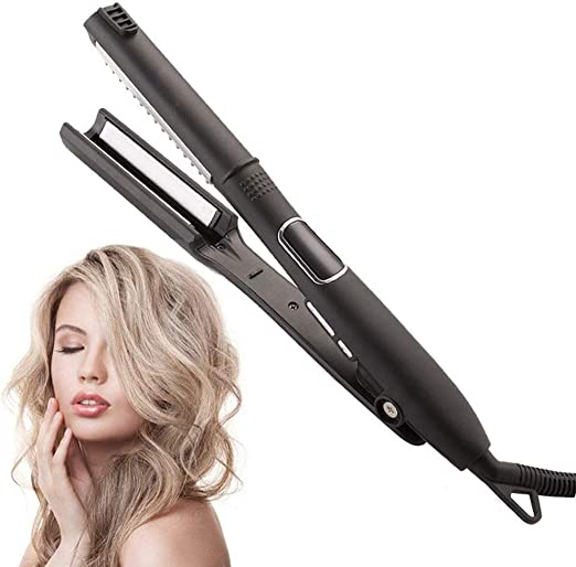IAIZI Ceramic Vapor Steam Hair Straightener Fast Heating