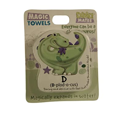 John Hinde DinoMates Magic Towel, D: Toys & Games