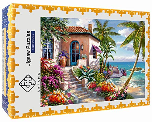🥇 Large Size New Puzzle for Adult and Kids 1000 Pieces Paper Outeck Puzzles