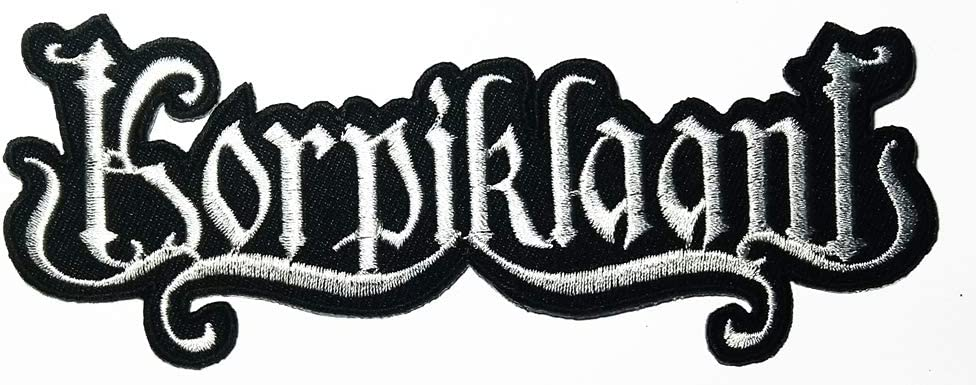 Music A Melodic Death Metal Heavy Metal Band Music Logo Patch Embroidered Sew Iron On Patches Badge Bags Hat Jeans Shoes T-Shirt Applique