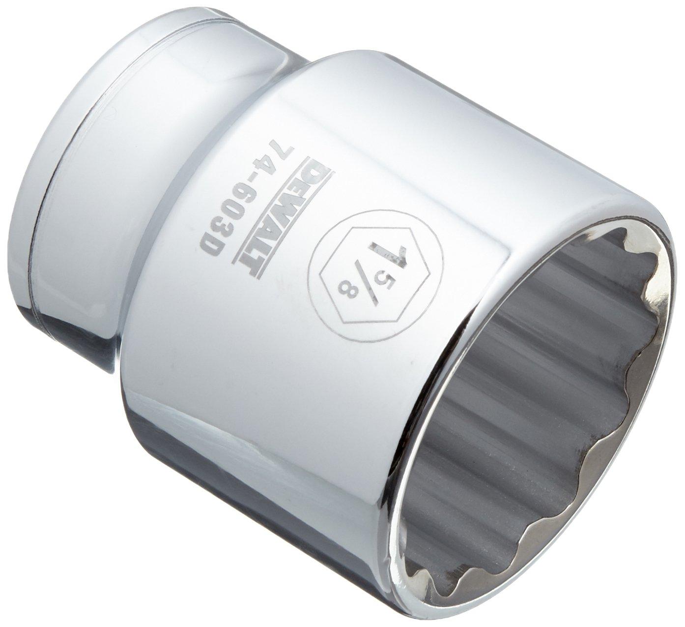 DEWALT 12 PT 3//4IN Drive Socket 1-7//16 SAE