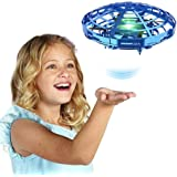 Flying Toys for 5 6 7 Year Old Boys,Cool Hand Operated Mini Drone for Kids,Small UFO Helicopter Indoor Hover Ball, Popular Birthday Presents for Girls Boy Age 8 9 10 11 12 Teens