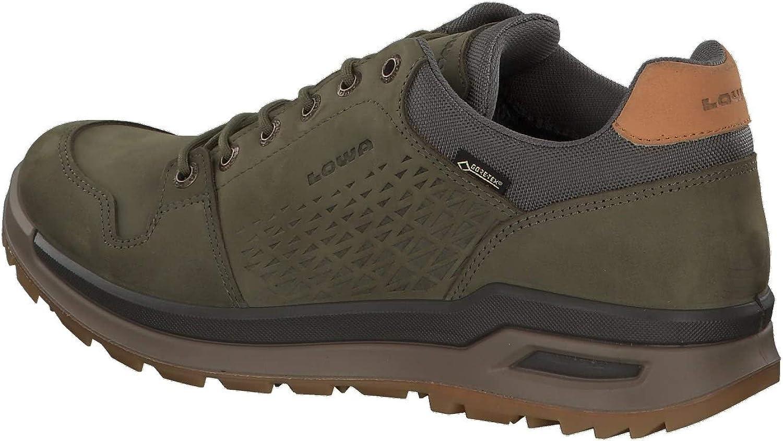 Lowa Mens Locarno Gore-Tex Lo Nubuck Shoes