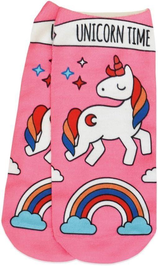 Donna Calzini Di Cotone UNICORN PONY HORSE Design Morbido Da Donna Ragazze Calze Design Nuovo