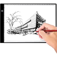 Portable Light Pad Led A4 light Box Thin Tracing Board, Artcraft Tablet with 3 Brightness Settings for Diamond Painting…