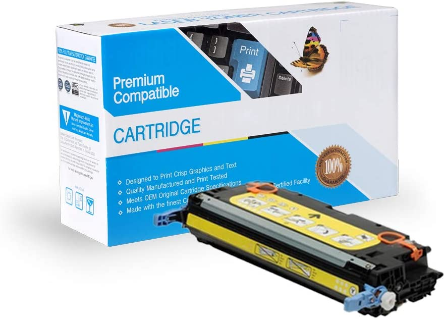 Yellow On-Site Laser Compatible Toner Replacement for Canon 1657B001AA Works with: imageRUNNER LBP 5360; imageCLASS MF9150C CRC111Y MF9170C
