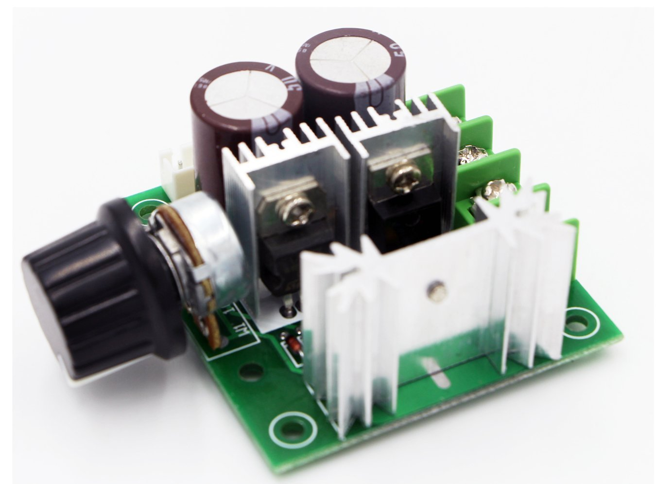 Riorand 12v 40v 10a Pwm Dc Motor Speed Controller With Knob High The Series Forward And Reverse Above Can Efficiency Torque Low Heat Generating Polarity Protection Current