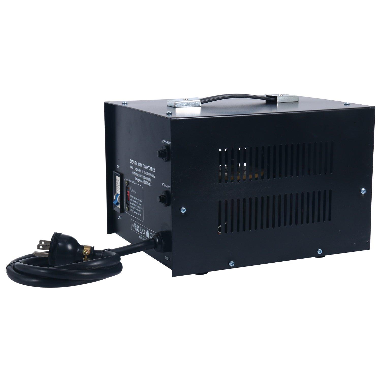 YaeCCC 5000 Watt Voltage Converter Transformer - 110V/220V - Circuit Breaker Protection by YaeCCC (Image #7)