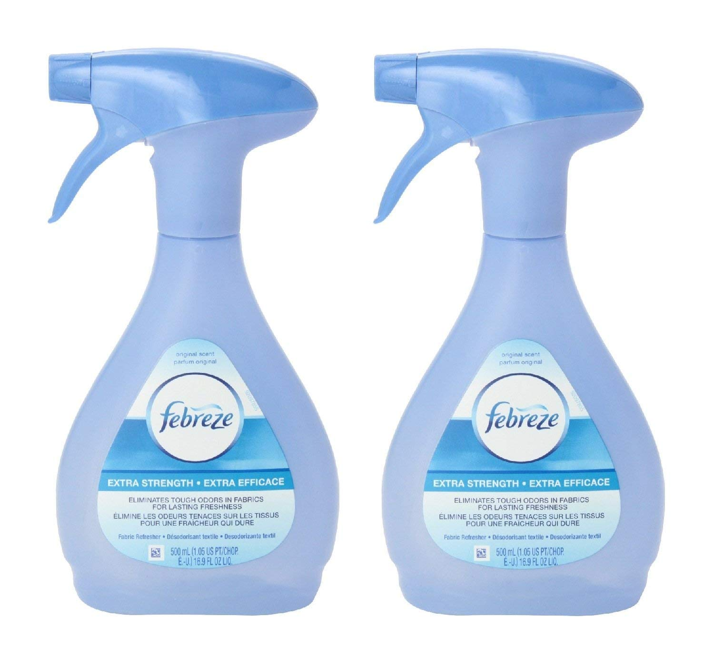 Febreze Extra Strength Fabric Refresher, 16.9 Fluid Ounce (Pack of 2)