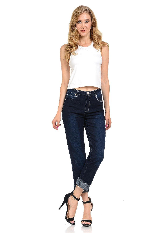 Studio Omega Women's Jeans - Sexy Boyfriend - Style 925