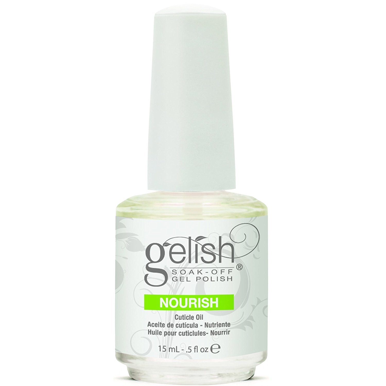 Amazon.com : New Gelish 15mL Gel Nail Soak Cuticle Oil Soak Off ...
