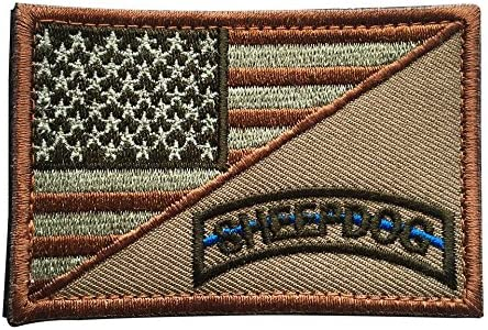 USA AMERICAN FLAG ARMY MORALE MILITARY BADGE DESERT CAM PATCH w//HOOK FASTENER