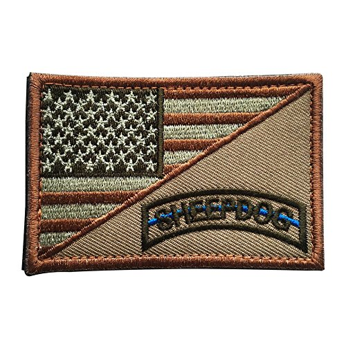 Backwoods Barnaby Law Enforcement USA Sheep Dog American Fla