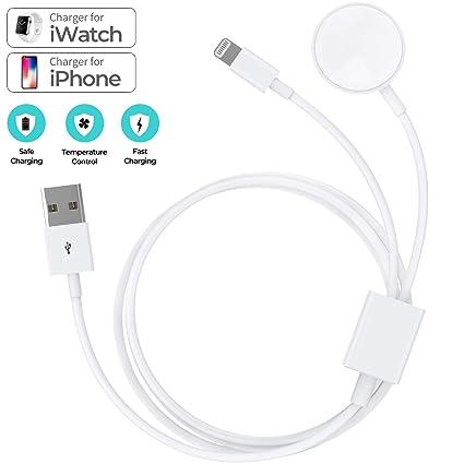 Amazon.com: Cargador de reloj inteligente y cable de carga ...