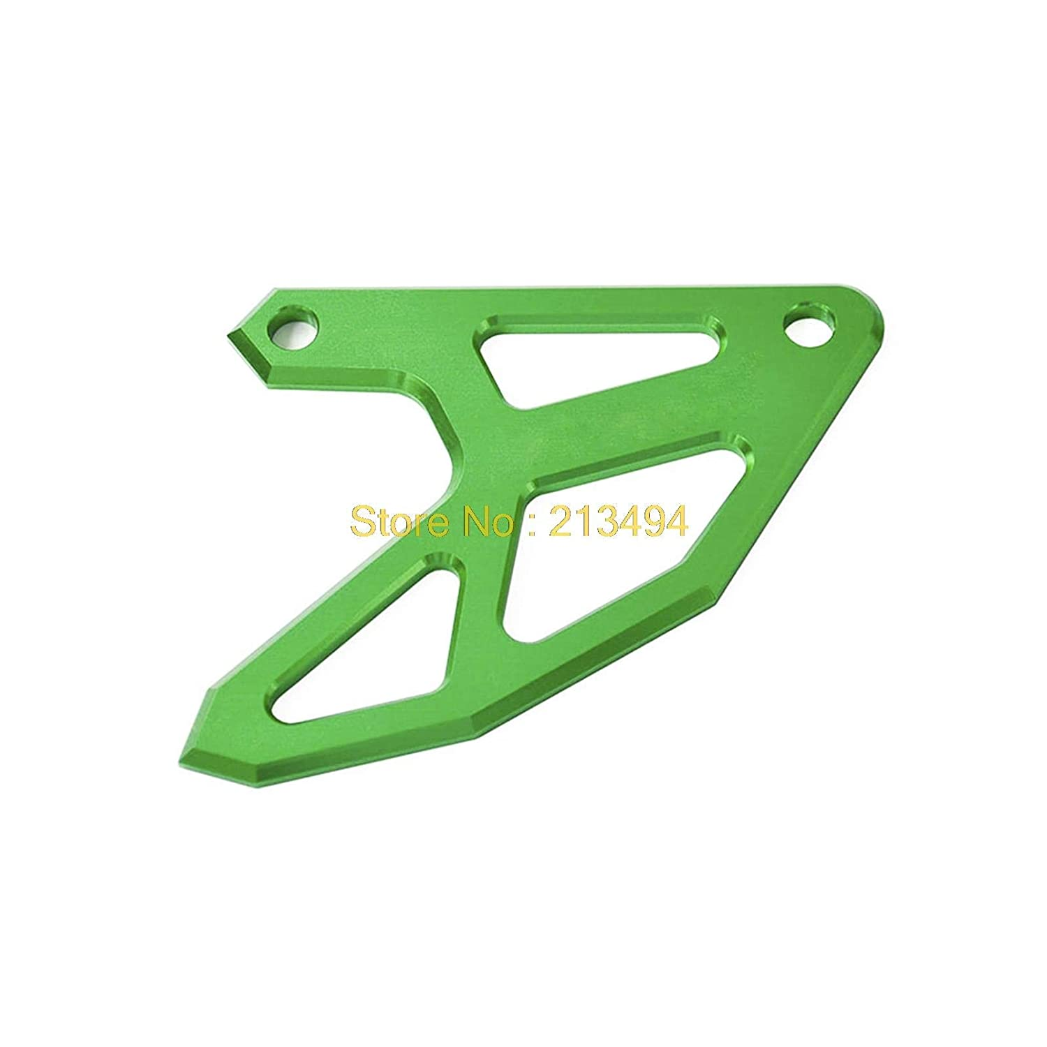 CNC Billet Rear Brake Disc Guard Potector For Kawasaki KX125 KX250 KX250F KX450F KLX450R Green TLU-Kaxu