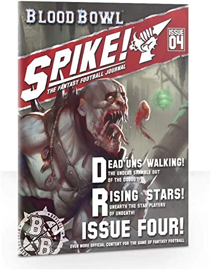 Amazon Com Blood Bowl Spike Journal Issue 4 Toys Games