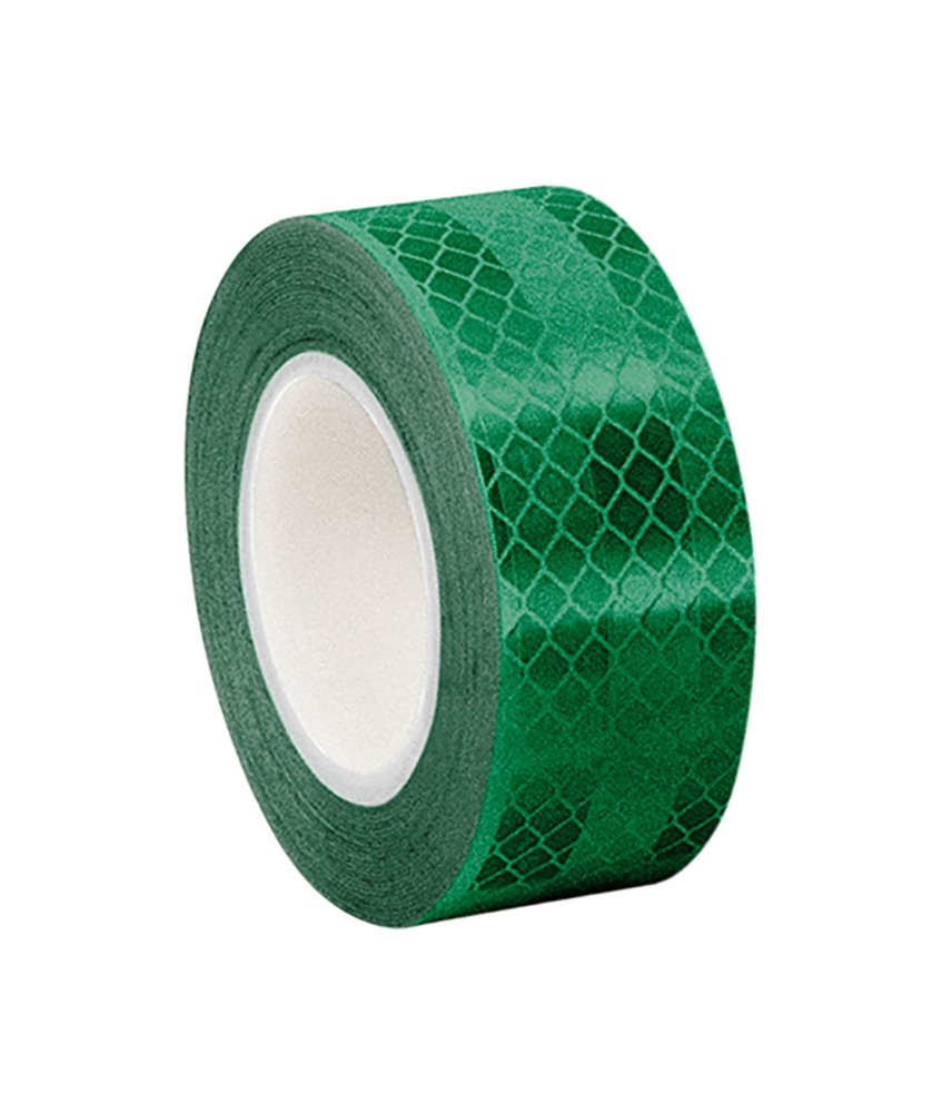 3M 3437 Green Micro Prismatic Sheeting Reflective Tape, 16mm X 4.6m (1 Roll) TapeCase 0.625-5-3437
