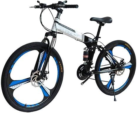 MYMGG Frenos de Doble Disco Bicicleta de Carretera Bicicletas de Carretera Plegables 21 Bicicletas de montaña (24 velocidades, 27 velocidades): Amazon.es: Deportes y aire libre