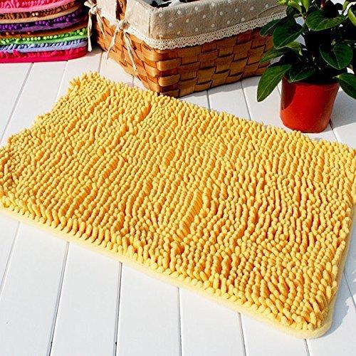 Upower Super Soft Absorbent Non-slip Microfiber Chenille Carpet/Doormat/Bath Mat/Rug Carpet/Floor Rug for Bedroom,Sitting Room,Corridor,Kitchen,Bathroom,and Car Seats,Shower,15.8x23.6