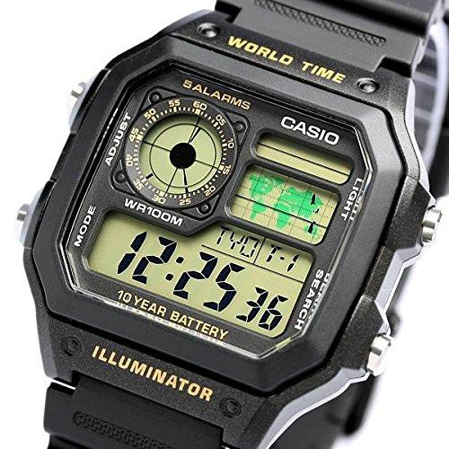 (Casio Classic Black Watch AE1200WH-1B)