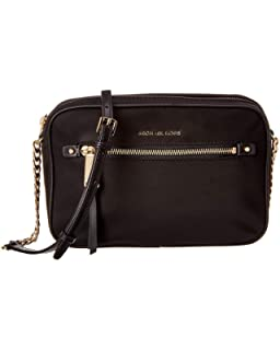 4023ec0465f2 MICHAEL Michael Kors Nylon East West Nylon Crossbody (Black)