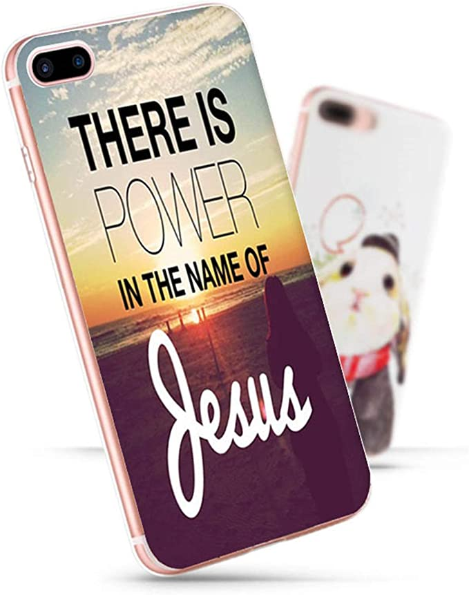 pour iPhone 7 6 x Coque Bible Verse Philippiens Jésus Christ ...