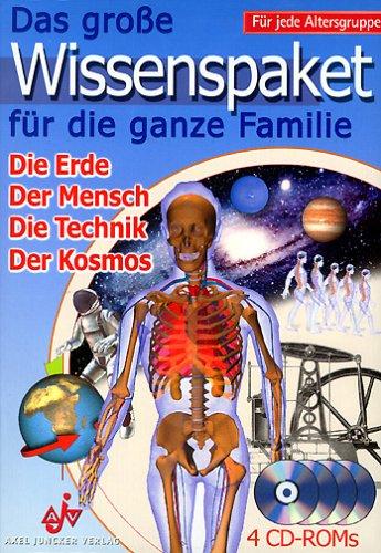 Das große Wissenspaket für die ganze Familie, 4 CD-ROMs Die Erde. Der Mensch. Die Technik. Der Kosmos. Für Windows 95 oder höher ()