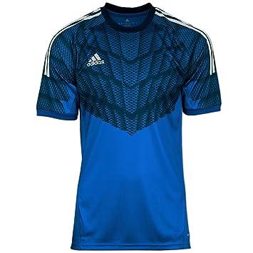 Adidas - Camiseta de portero de fútbol Adidas GK, jersey gra azul, turquesa, 10° (XL - torace 112/121 cm): Amazon.es: Deportes y aire libre