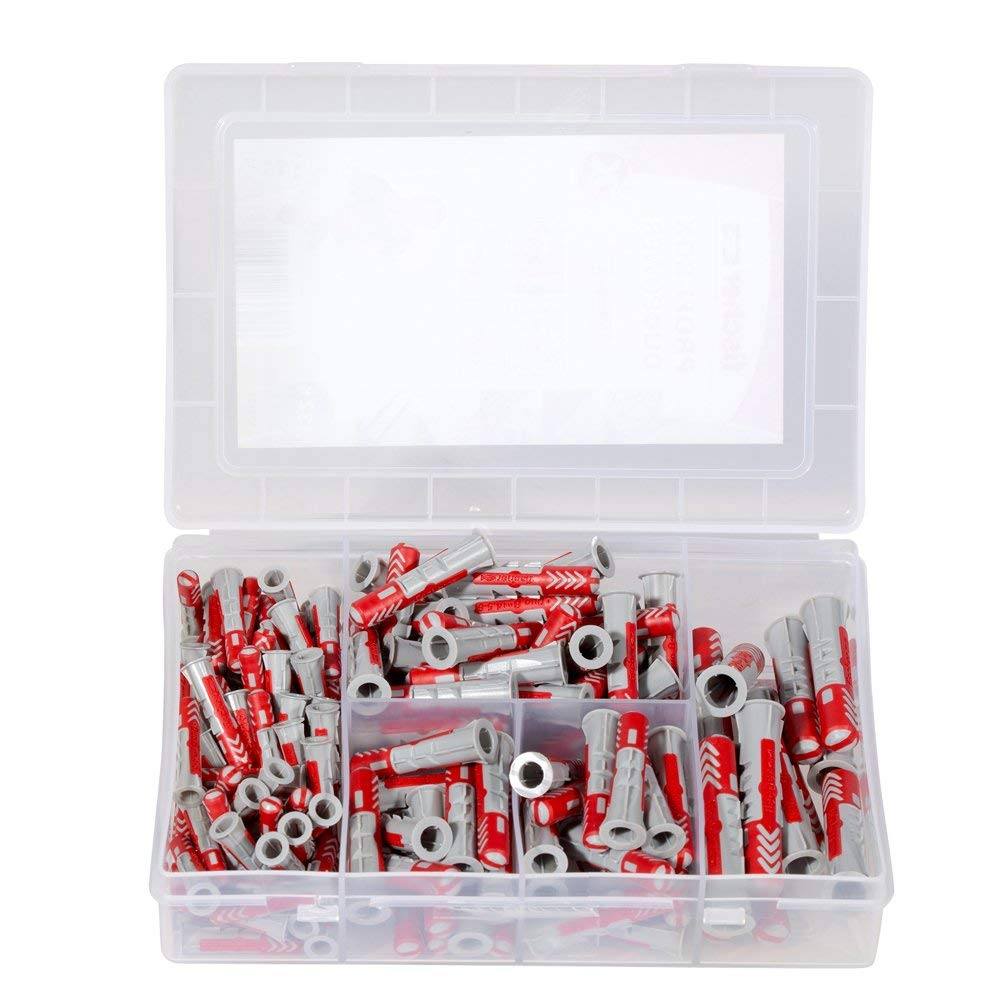 538622 juego profesional Caja de tacos y tornillos Fischer