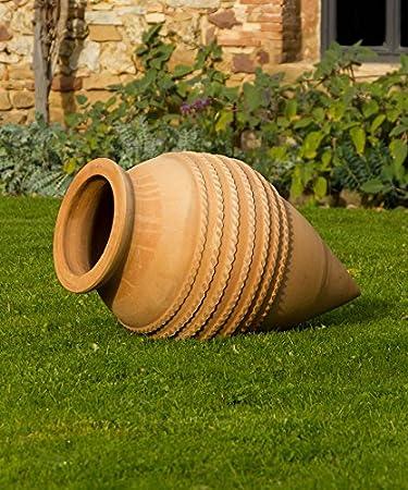 Kreta Keramik Grosse Winterfeste Terracotta Amphore Spitzamphore