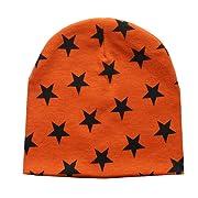 Tuscom Toddler Baby Infant Winter Warm Crochet Knit Hat Beanie Cap (Orange)